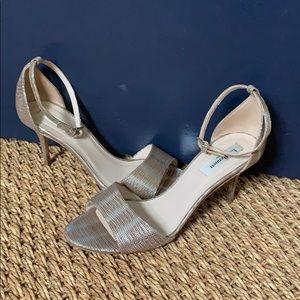 Metallic LK Bennett Strappy Mya Heels